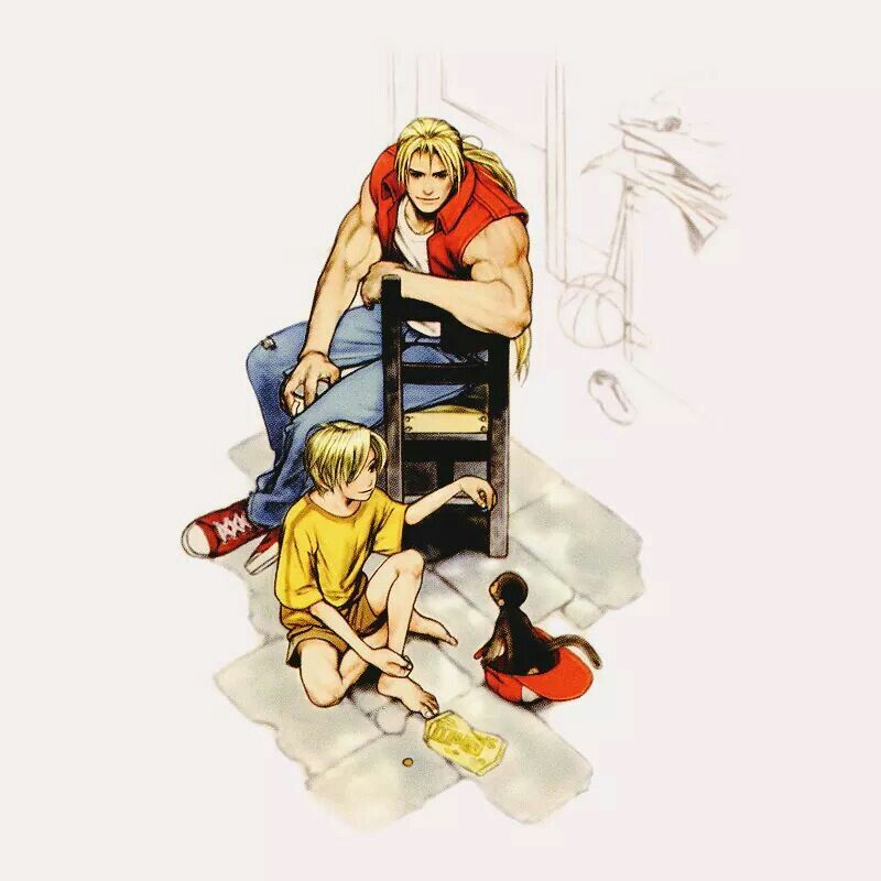 Terry Bogard Ukee Rock is the son of the most infamous crime lord of southtown, geese howard. terry bogard ukee